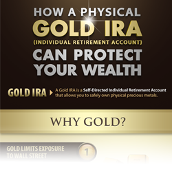 How a physical gold IRA can protect your wealth infographic thumbnail