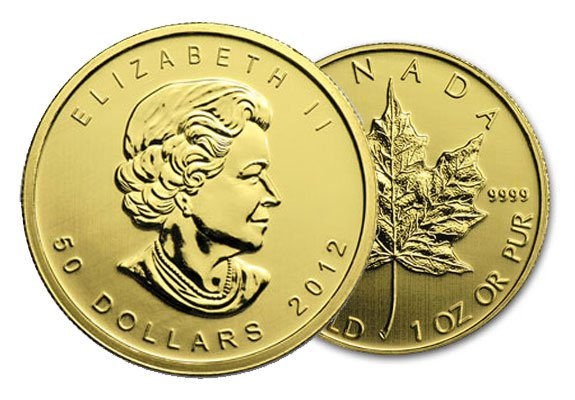 Canadian Gold Maple Leaf Coins | American Bullion