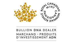 Royal Canadian mint bullion DNA dealer