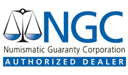 Numismatic Guaranty Corporation authorized dealer
