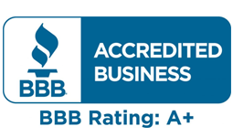 BBB Accredited Business rating A+