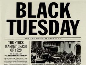 Black Tuesday, The Stock Market Crash of 1929
